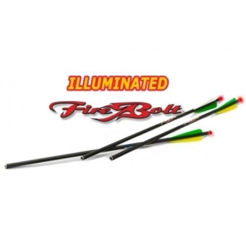 EXCALIBUR - FIREBOLT illuminated Carbon Arrows 3 PACK