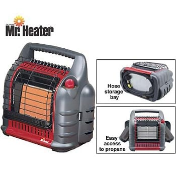 how to clean mr heater